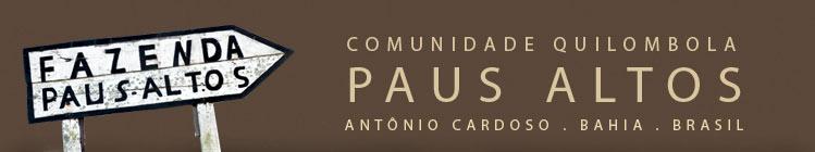 Comunidade Quilombola Paus Altos